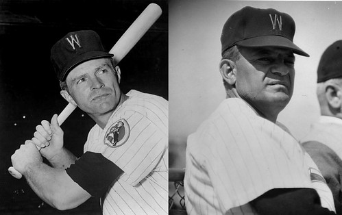 Billy Gardner and Cookie Lavagetto of the Washington Senators: Ca: 1960