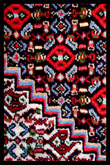 Sanandaj handmade carpet (kavan.) Tags: abstract canon handicraft carpet colorful iran handmade rug rugs carpets  kurdistan sanandaj   400d   sanandajrug iranrug
