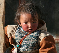 Little Kahn (Ingiro) Tags: boy children kid little tibet khan himalaya kailash kora ingiro sagadawa interestingness260 i500