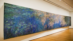 Claude Monet. Water Lilies. c.1920. (Michael Surtees) Tags: leica nyc moma waterlilies claudemonet nyc2