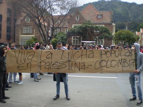 Marcha apoyo a Palestina / Gaza en Bogotá, Colombia - 20090106 - 1061763