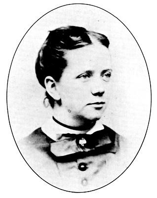 Christine Ladd ca. 1870