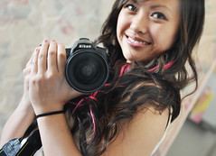 (Annie Hall Photography) Tags: selfportrait cute smile nikon bokeh d90 serend1p1tyx