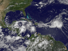 Tropical Depression Alex (Atlantic Ocean)