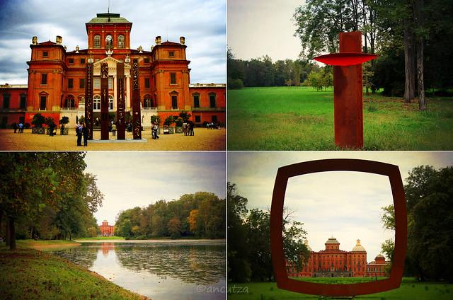 Scorci castello e parco del castello di racconigi