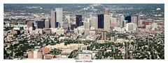 Denver Skyline Panoramic (SkylineScenes (Bill Cobb)) Tags: city urban panorama skyline colorado downtown cityscape pano denver panoramic