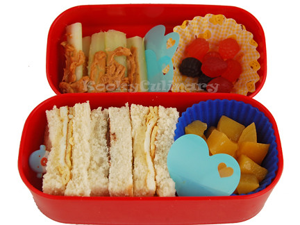 Kids Bento #115 - Mixed up sandwich day