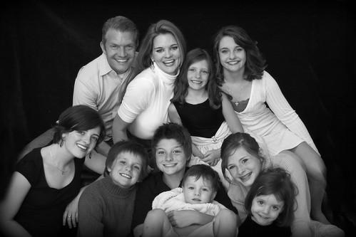family pic '10 fav edit1 b&w