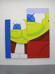 "Kaws ""Pay the Debt to Nature"" (BFLV) Tags: urban paris france art paint galerie exhibition spongebob kaws companion accomplice briandonnelly emmanuelperrotin bflv paythedebttonature"