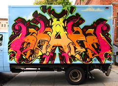 Keaps (funkandjazz) Tags: sanfrancisco california truck graffiti und keep keap aqk keaps