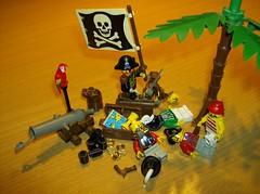 Piraten, aus Lego