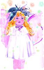 Monet's Fairy with fairydust