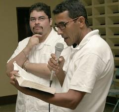 Leopoldo Sanchez and Edgar Poito