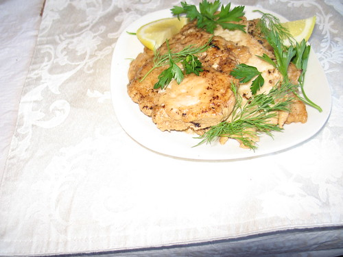 Limoncello Chicken