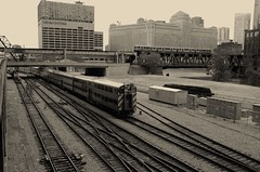 chicago (sbrrmk) Tags: life city blackandwhite bw usa chicago siyahvebeyaz