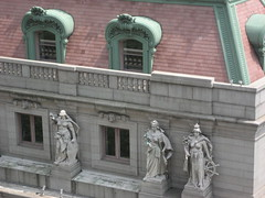 Statues from Above