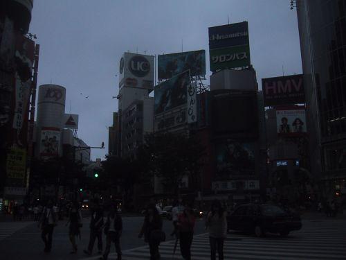 渋谷 早朝2