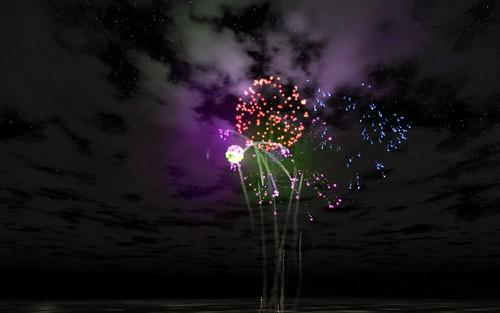 Virtual Fireworks