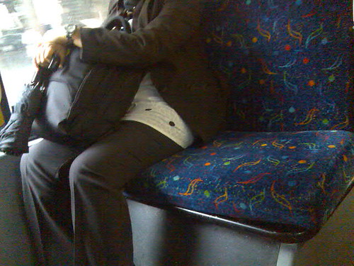 How to sit on a bus