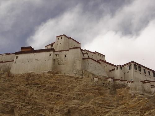 El fuerte de Gyantse