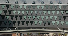 Triangular windows (H-JK) Tags: triangle frankfurt westhafen dreieck