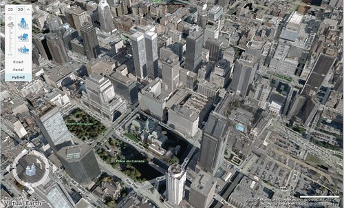 Montreal in Virtual Earth