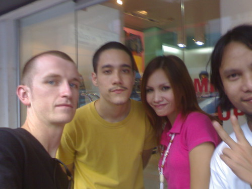 me, Nick, Aoth, Mono