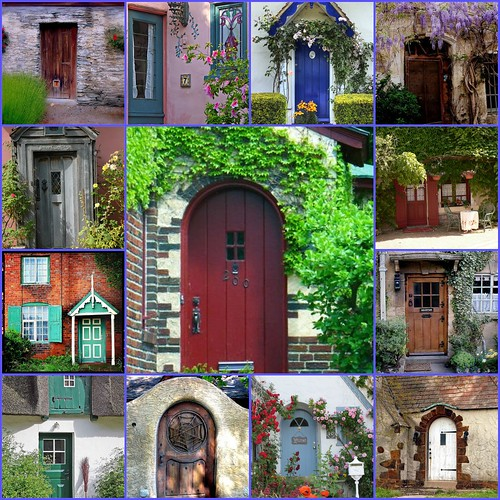 My favorite cottage doors