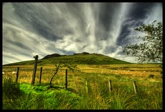 The Stile (Mark Twells) Tags: uk green landscape shropshire hill stile caradoc caer cotcmostfavorited explore4