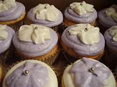 Lavender and Vanilla Cupcakes