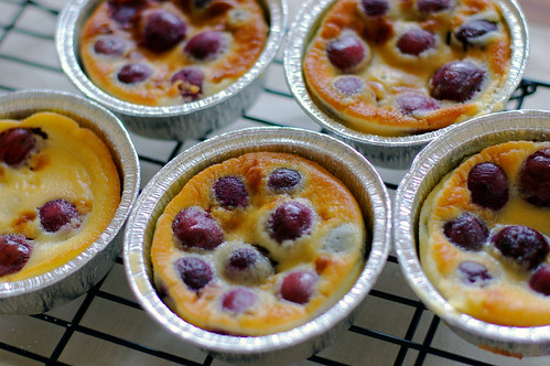 Fresh from the Oven: My first taste of cherry clafoutis