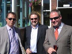 Jules, Andy and Mark (Bronny Bird) Tags: bron joandneilswedding