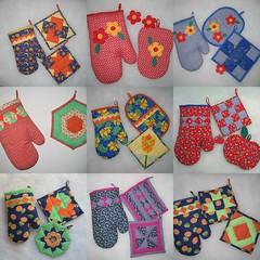 luvas de cozinha - baking glove (Carla Cordeiro) Tags: kaleidoscope seminole patchwork jogo cozinha caleidoscpio floresdefeltro luvadecozinha floresdetecido linhaeagulha agulhaelinha