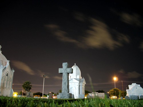 Calvary Catholic cemetery by Galveston Islander