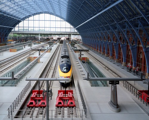 Eurostar St Pancras London