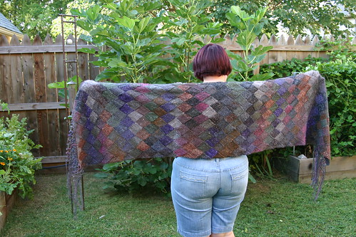 Finished Lady Eleanor Shawl