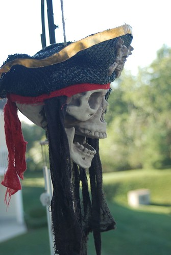 Li's Pirate Halloween Skull