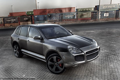 Porsche Cayenne Turbo (A.alFoudry) Tags: street red reflection classic car sport port canon silver eos gray full cayenne container turbo german porsche frame 5d kuwait usm fullframe  ef 1740mm canonef1740mmf4lusm hdr kuwaiti q8 abdullah   f4l canoneos5d  kuw q80  xnuzha alfoudry  abdullahalfoudry foudryphotocom  kvwc kuwaitvoluntaryworkcenter
