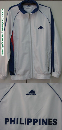 Accel 2005 Sea Games Team Philippines Jacket