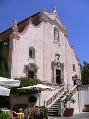 Taormina - Chiesa di San Giuseppe (Luigi Strano) Tags: italien italy travels holidays italia churches kirchen chapels temples trips sicily iglesias domes taormina italie sicilia vacanze igrejas catedrales capillas chiese glises  monaster basilicas  kocioy