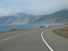 along the pacific coast highway