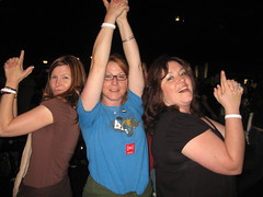 The happiest DMB fans we have met yet on the tour...