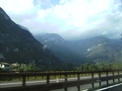 Driving from the airport (Food Philosophy) Tags: venice italy asiago altoadige speck chefmark foodphilosophy jenniferiannolo culinarypodcastnetwork gildedfork