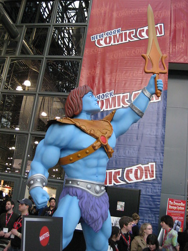 Comic Con He-Man azul