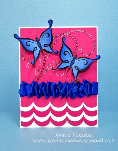 Blue DeNami Butterflies (1)