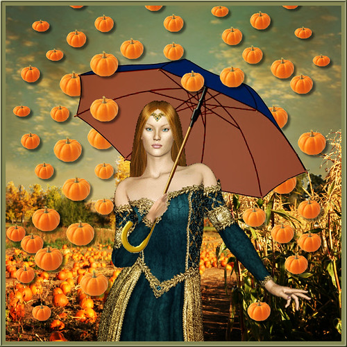 It's Raining Pumpkin