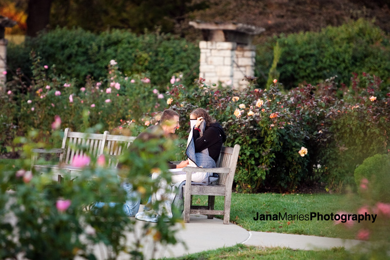 Lose Park Kansas City, Jenny & Austin proposal, Kansas City wedding photography, Jana Marie Photography