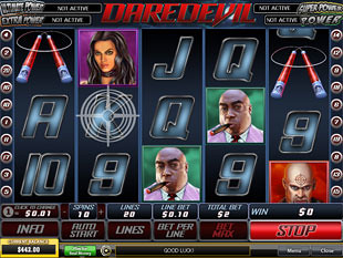 Daredevil slot game online review