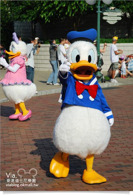 【香港迪士尼】跟著via玩香港(3)~迪士尼卡通人物歡樂巡遊45