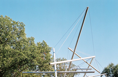 Kenneth Snelson: Free Ride Home (1974)
